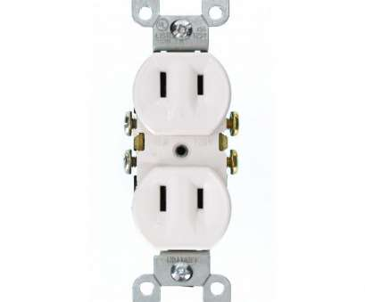 12 gauge wire on 15 amp outlet Leviton 15, 2-Wire Duplex Outlet, White 12 Gauge Wire On 15, Outlet Simple Leviton 15, 2-Wire Duplex Outlet, White Images
