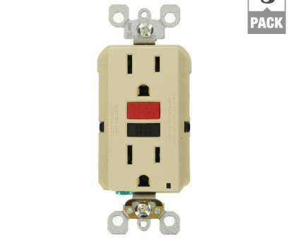12 gauge wire on 15 amp outlet Leviton 15, Self-Test SmartlockPro Slim Duplex GFCI Outlet, Ivory (3-Pack) 12 Gauge Wire On 15, Outlet Nice Leviton 15, Self-Test SmartlockPro Slim Duplex GFCI Outlet, Ivory (3-Pack) Photos