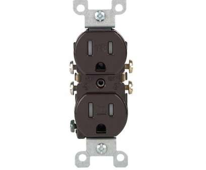 12 gauge wire on 15 amp outlet Leviton 15, Tamper-Resistant Duplex Outlet, Brown 12 Gauge Wire On 15, Outlet Practical Leviton 15, Tamper-Resistant Duplex Outlet, Brown Galleries