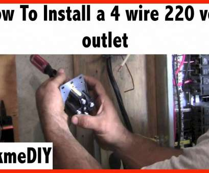 12 gauge wire on 30 amp breaker How to Install a, Volt 4 Wire Outlet 12 Gauge Wire On 30, Breaker Best How To Install A, Volt 4 Wire Outlet Photos