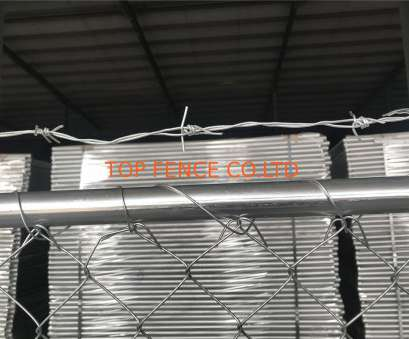 12 gauge wire panels 8'x12' chain link fence panels, semi contruction site mesh 3