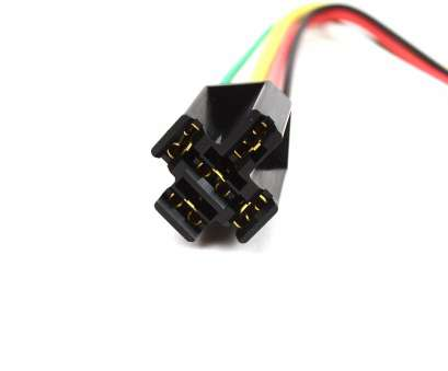 12 gauge wire plug 5-Pin Relay Connector Plug with 12 Gauge Wires 12 Gauge Wire Plug Brilliant 5-Pin Relay Connector Plug With 12 Gauge Wires Photos
