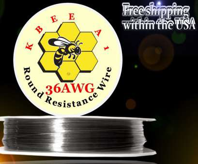 12 gauge wire resistance Kbee's A1, 100ft Roll 36 Gauge .127mm , 33.4 Ohms/ft Resistance Wire 1 of 1FREE Shipping, More 12 Gauge Wire Resistance Fantastic Kbee'S A1, 100Ft Roll 36 Gauge .127Mm , 33.4 Ohms/Ft Resistance Wire 1 Of 1FREE Shipping, More Solutions