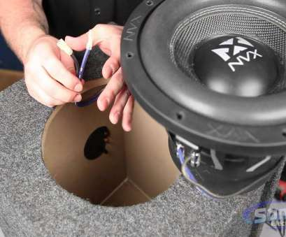 12 gauge wire for subwoofer How to Install a, Subwoofer in a Box 12 Gauge Wire, Subwoofer New How To Install A, Subwoofer In A Box Galleries