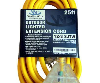 12 gauge wire wattage rating ... 12 Gauge 25 foot SJTW 3 Conductor Rugged Duty Multi, Indoor / Outdoor Extension Cord 12 Gauge Wire Wattage Rating Nice ... 12 Gauge 25 Foot SJTW 3 Conductor Rugged Duty Multi, Indoor / Outdoor Extension Cord Galleries