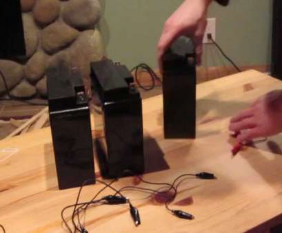 12 Volt 6 Gauge Wire Creative How To Wire 12 Volt Batteries In Series, Parallel Images