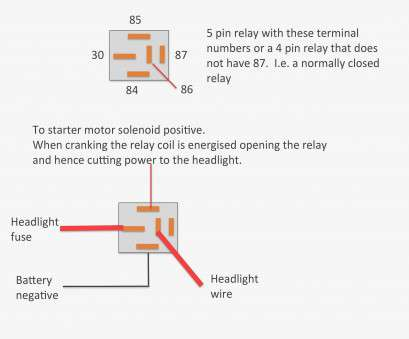 17 Best 12V Automotive Relay Wiring Diagram Photos - Tone Tastic A Pin Automotive Relay Wiring on