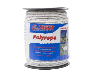 14 gauge fence wire lowes Fi-Shock 656-ft Electric Fence Poly Rope 14 Gauge Fence Wire Lowes New Fi-Shock 656-Ft Electric Fence Poly Rope Photos
