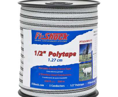 14 gauge fence wire lowes Fi-Shock 656-ft Electric Fence Poly Tape 14 Gauge Fence Wire Lowes Popular Fi-Shock 656-Ft Electric Fence Poly Tape Collections