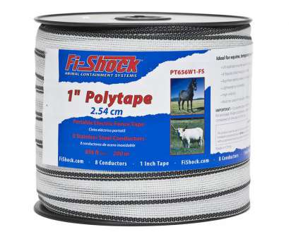 14 gauge fence wire lowes Fi-Shock 656-ft Electric Fence Poly Tape 14 Gauge Fence Wire Lowes Simple Fi-Shock 656-Ft Electric Fence Poly Tape Collections