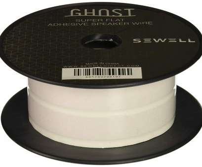 14 gauge ghost wire Amazon.com: Sewell Ghost Wire, Super Flat Adhesive Speaker Wire, 16 Awg, 2 Conductor, 50, Spool, White: Home Audio & Theater 9 Popular 14 Gauge Ghost Wire Ideas