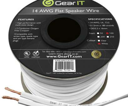 14 gauge ghost wire Amazon.com: GearIT Elite Series 14AWG Flat Speaker Wire (100 Feet / 30.4 Meters), Oxygen Free Copper (OFC), Rated In-Wall Installation, Home Theater 14 Gauge Ghost Wire Most Amazon.Com: GearIT Elite Series 14AWG Flat Speaker Wire (100 Feet / 30.4 Meters), Oxygen Free Copper (OFC), Rated In-Wall Installation, Home Theater Images