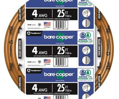 14 gauge ground wire lowes 25-ft 4-Gauge Solid Soft Drawn Copper Bare Wire (By-the 14 Gauge Ground Wire Lowes Professional 25-Ft 4-Gauge Solid Soft Drawn Copper Bare Wire (By-The Pictures