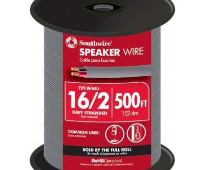 14 gauge ground wire lowes 500-ft 16/2 In-Wall Speaker Wire (By-the 14 Gauge Ground Wire Lowes Practical 500-Ft 16/2 In-Wall Speaker Wire (By-The Galleries