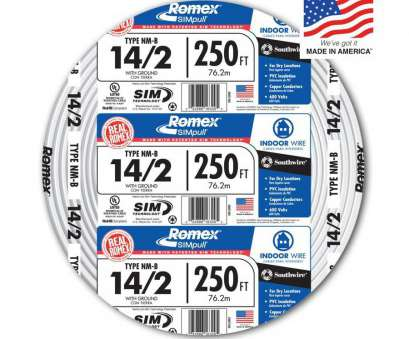 14 gauge ground wire lowes Shop Southwire Romex SIMpull 250-ft 14/2 Non-Metallic Wire (By-the 14 Gauge Ground Wire Lowes Creative Shop Southwire Romex SIMpull 250-Ft 14/2 Non-Metallic Wire (By-The Galleries