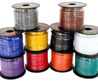 14 gauge hookup wire 14 Gauge 6 Color Roll Primary Wire Combo Pack,, ft, roll,, feet total,, Cable, Automotive Trailer Harness Hookup Amplifier Remote LED 9 Nice 14 Gauge Hookup Wire Images