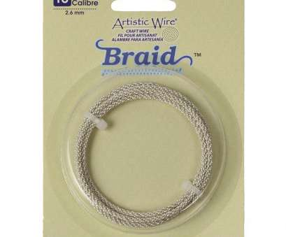 14 gauge memory wire 10ga Artistic Wire Braided Jewelry Wire, Tarnish Resistant Silver Plated Copper, Limited Stock 14 Gauge Memory Wire Simple 10Ga Artistic Wire Braided Jewelry Wire, Tarnish Resistant Silver Plated Copper, Limited Stock Images