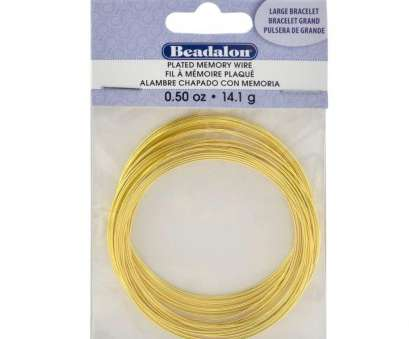 14 gauge memory wire Amazon.com: Beadalon Gold Plated Memory Wire Bracelet-1/2-Ounce/Pkg, Approx 30 Loops 18 New 14 Gauge Memory Wire Galleries