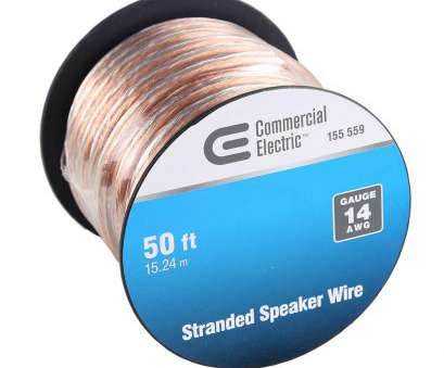 14 gauge speaker wire 50 ft Commercial Electric 50, 14-Gauge Stranded Speaker Wire 14 Gauge Speaker Wire 50 Ft Creative Commercial Electric 50, 14-Gauge Stranded Speaker Wire Photos