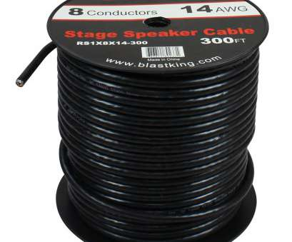 14 gauge speaker wire 500 ft 14, 8-Conductor Speaker Cable, Ft, RS1X8X14-300, Blastking 14 Gauge Speaker Wire, Ft Professional 14, 8-Conductor Speaker Cable, Ft, RS1X8X14-300, Blastking Solutions