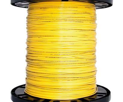 14 gauge tracer wire Southwire 2500, 14 Yellow Stranded CU THHN Wire 14 Gauge Tracer Wire Top Southwire 2500, 14 Yellow Stranded CU THHN Wire Pictures