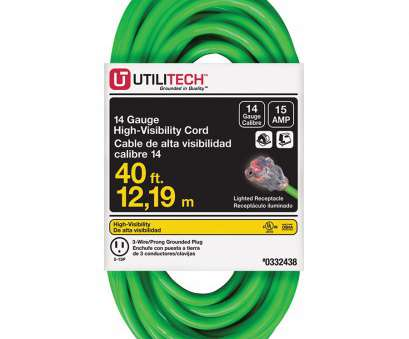 14 gauge wire 15 amp Shop Utilitech 40-ft 15-Amp 14-Gauge Neon Green Outdoor Extension 14 Gauge Wire 15 Amp Most Shop Utilitech 40-Ft 15-Amp 14-Gauge Neon Green Outdoor Extension Galleries