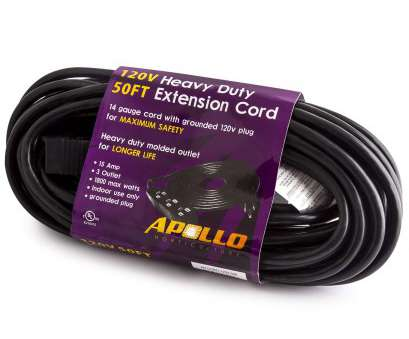 14 gauge wire amps 120v Apollo Horticulture 14 Gauge 120V Heavy Duty 50ft Extension Cord with 3 Outlet Power Strip, Amazon.com 14 Gauge Wire Amps 120V Most Apollo Horticulture 14 Gauge 120V Heavy Duty 50Ft Extension Cord With 3 Outlet Power Strip, Amazon.Com Ideas