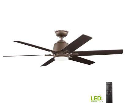 14 Gauge Wire, Ceiling Fan Brilliant Home Decorators Collection Kensgrove 54, Integrated, Indoor Espresso Bronze Ceiling, With Light, And Remote Control Collections