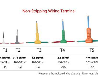 14 gauge wire current Electrical Wire Connectors, T-tap Quick Splice 16, with No Stripping of Wires ( Pack of 10,, Amazon.com 14 Gauge Wire Current Most Electrical Wire Connectors, T-Tap Quick Splice 16, With No Stripping Of Wires ( Pack Of 10,, Amazon.Com Collections