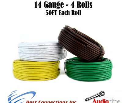 14 gauge wire harness Trailer Light Cable Wiring, Harness 50 Feet 14 Gauge 4 Wire 4 colors 8 Brilliant 14 Gauge Wire Harness Collections