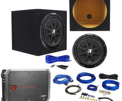 14 gauge wire subwoofer Get Quotations · Package: KICKER 43C124 Comp, 300W, Subwoofer + Rockville RXA-T1 Car 13 New 14 Gauge Wire Subwoofer Photos
