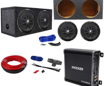 14 gauge wire for subwoofer Package:, KICKER 43C124 Comp, Car Subwoofers Totlaing 600W + Kicker 14 Gauge Wire, Subwoofer New Package:, KICKER 43C124 Comp, Car Subwoofers Totlaing 600W + Kicker Photos