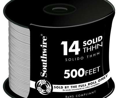 14 gauge wire thhn 500 Ft 14 White Solid Cu Thhn Wire 14 Gauge Wire Thhn Top 500 Ft 14 White Solid Cu Thhn Wire Images