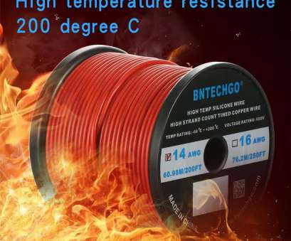 14 gauge wire voltage rating Amazon.com: BNTECHGO 14 Gauge Silicone Wire Spool, 200 feet Ultra Flexible High Temp, deg C 600V 14AWG Silicone Rubber Wire, Strands of Tinned 14 Gauge Wire Voltage Rating Best Amazon.Com: BNTECHGO 14 Gauge Silicone Wire Spool, 200 Feet Ultra Flexible High Temp, Deg C 600V 14AWG Silicone Rubber Wire, Strands Of Tinned Images