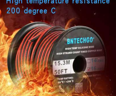 14 gauge wire voltage rating Amazon.com: BNTECHGO 16 Gauge Flexible 2 Conductor Parallel Silicone Wire Spool, Black High Resistant, deg C 600V, Single Color, Strip Extension 14 Gauge Wire Voltage Rating Most Amazon.Com: BNTECHGO 16 Gauge Flexible 2 Conductor Parallel Silicone Wire Spool, Black High Resistant, Deg C 600V, Single Color, Strip Extension Images