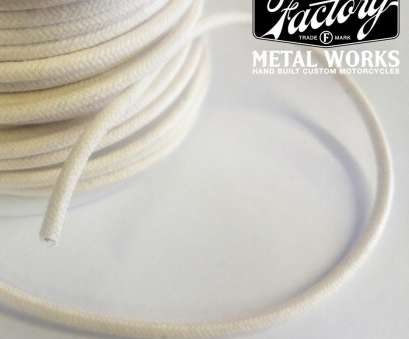 16 gauge cloth covered wire 16 Gauge White Cloth Covered Wire 10 ft, Factory Metal Works 16 Gauge Cloth Covered Wire Brilliant 16 Gauge White Cloth Covered Wire 10 Ft, Factory Metal Works Images