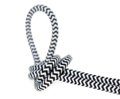 16 gauge cloth covered wire DIY Fabric Wire by, Foot, 16 g. Black & White ZigZag 16 Gauge Cloth Covered Wire Most DIY Fabric Wire By, Foot, 16 G. Black & White ZigZag Ideas