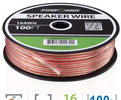 16 gauge speaker wire uk FosPower Speaker Wire, 16AWG Premium Oxygen Free Bare Copper Speaker Wire with Clear Jacket, Red Polarity Mark (100ft / 30m) 16 Gauge Speaker Wire Uk New FosPower Speaker Wire, 16AWG Premium Oxygen Free Bare Copper Speaker Wire With Clear Jacket, Red Polarity Mark (100Ft / 30M) Photos
