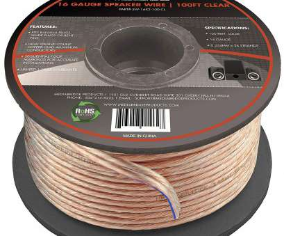 16 gauge speaker wire uk Mediabridge 16AWG 2-Conductor Speaker Wire (100 Feet, Clear), Spooled Design 16 Gauge Speaker Wire Uk Top Mediabridge 16AWG 2-Conductor Speaker Wire (100 Feet, Clear), Spooled Design Photos