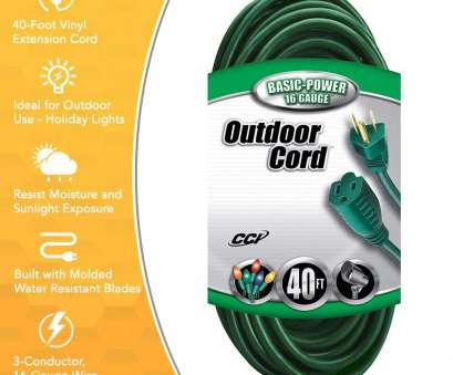 16 gauge wire amp rating Coleman Cable 2353 16/3 Vinyl Landscape Outdoor Extension Cord, Green, 80 Foot, Amazon.com 16 Gauge Wire, Rating Fantastic Coleman Cable 2353 16/3 Vinyl Landscape Outdoor Extension Cord, Green, 80 Foot, Amazon.Com Solutions