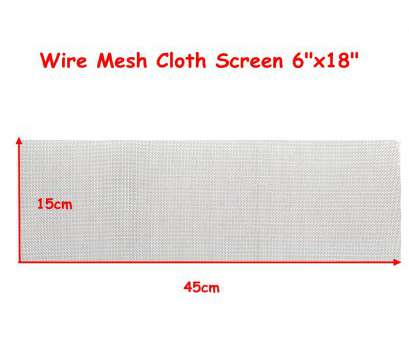 16 mesh wire screen 15x45cm Woven Wire, Stainless Steel Filtration Grill Sheet Filter 16 Mesh 16 Mesh Wire Screen Creative 15X45Cm Woven Wire, Stainless Steel Filtration Grill Sheet Filter 16 Mesh Solutions