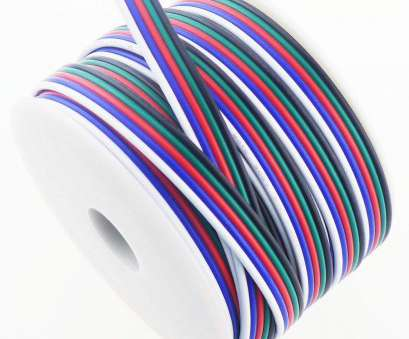 18 gauge 5 wire RGBSIGHT 40FT 18 Gauge RGBW, Strip Extension Cable 18AWG 5pin 5 Color Stand Wire, RGBW RGBWW, Ribbon Lamp Tape Lighting, Feet, Spool) 18 Gauge 5 Wire Creative RGBSIGHT 40FT 18 Gauge RGBW, Strip Extension Cable 18AWG 5Pin 5 Color Stand Wire, RGBW RGBWW, Ribbon Lamp Tape Lighting, Feet, Spool) Collections