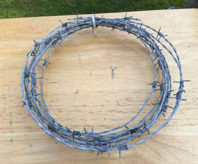 18 gauge barbed wire 21 Feet, Barb Wire, 18 Gauge with 4 Point Barbed Wire--Rustic Western Craft Supply--American Made--Country Cowboy Crafts 18 Gauge Barbed Wire Simple 21 Feet, Barb Wire, 18 Gauge With 4 Point Barbed Wire--Rustic Western Craft Supply--American Made--Country Cowboy Crafts Photos