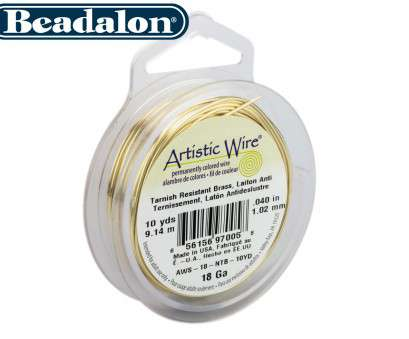18 gauge beading wire Beadalon Artistic Wire, Choose Your Colour, Gauge; Picture 2 of 2 18 Gauge Beading Wire New Beadalon Artistic Wire, Choose Your Colour, Gauge; Picture 2 Of 2 Collections