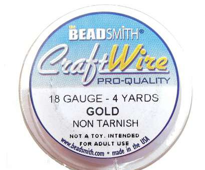 18 gauge beading wire gold plate wire, jewelry wire, bead smith, 18 gauge, gold, wire 18 Gauge Beading Wire Simple Gold Plate Wire, Jewelry Wire, Bead Smith, 18 Gauge, Gold, Wire Pictures