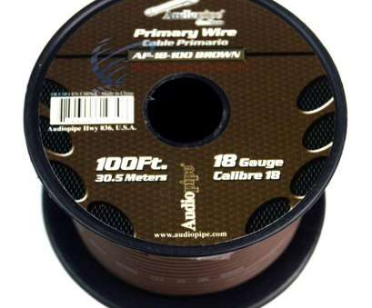 18 gauge brown wire 6 Rolls 18 gauge, Feet Power Cable, Audio Primary Remote Wire Copper,, - Amazon.com 18 Gauge Brown Wire Most 6 Rolls 18 Gauge, Feet Power Cable, Audio Primary Remote Wire Copper,, - Amazon.Com Ideas