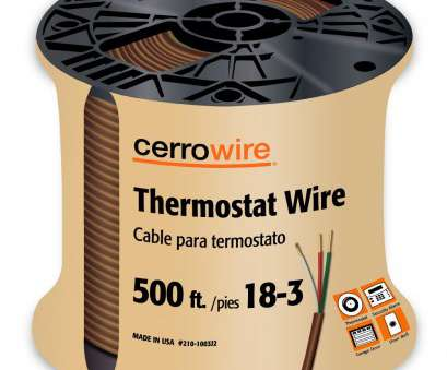 18 gauge brown wire Details about CERRO 210-1003J2 500-Feet 18/3 Thermostat Brown Wire, 500-Foot, 18-Gauge, 3 18 Gauge Brown Wire Creative Details About CERRO 210-1003J2 500-Feet 18/3 Thermostat Brown Wire, 500-Foot, 18-Gauge, 3 Pictures