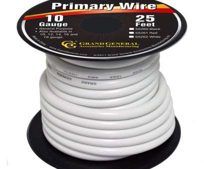 18 gauge electrical wire to mm Amazon.com: Grand General 55262 White 10-Gauge Primary Wire: Automotive 18 Gauge Electrical Wire To Mm Simple Amazon.Com: Grand General 55262 White 10-Gauge Primary Wire: Automotive Ideas