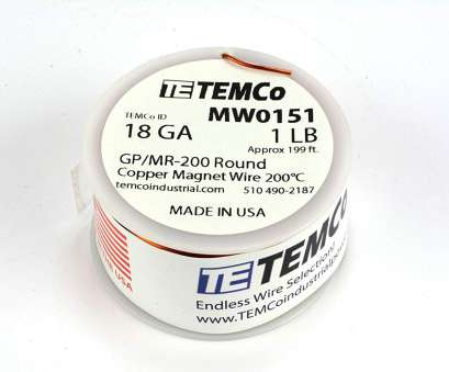18 gauge magnet wire Amazon.com: TEMCo 18, Copper Magnet Wire, lb, ft 200°C Magnetic Coil Winding: Health & Personal Care 18 Gauge Magnet Wire Perfect Amazon.Com: TEMCo 18, Copper Magnet Wire, Lb, Ft 200°C Magnetic Coil Winding: Health & Personal Care Galleries