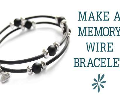 18 gauge memory wire Memory wire bracelet, beginner's jewelry-making project 19 Simple 18 Gauge Memory Wire Collections